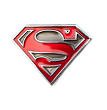 Superman - Classic Man Of Steel Buckle