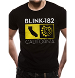 Blink 182 - California State - Unisex T-shirt Black