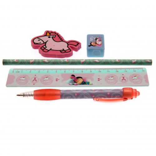 Despicable Me 6pc Stationery Set Fluffy Unicorn