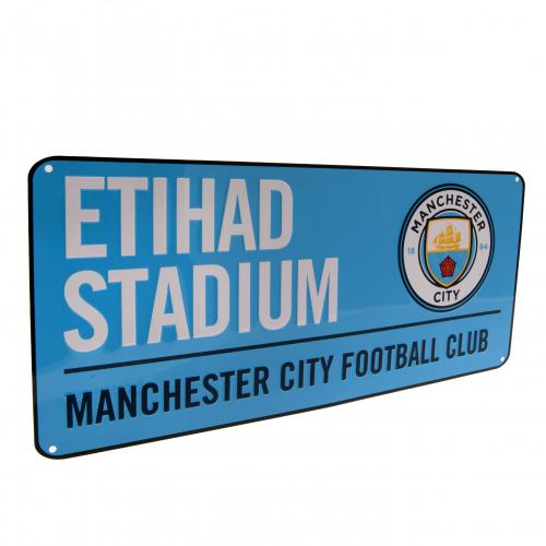 Manchester City F.C. Street Sign BL