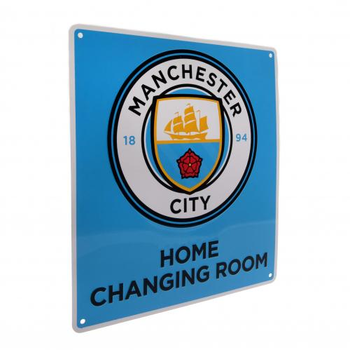 Manchester City F.C. Home Changing Room Sign