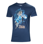 Zelda Breath of the Wild - Men's t-shirt Link with arrow