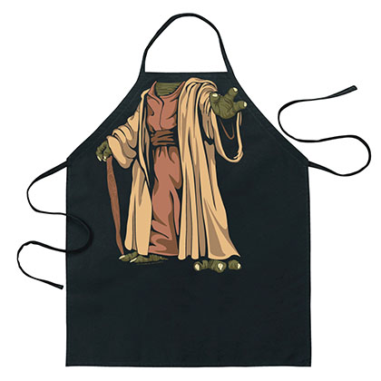 STAR WARS Yoda Cartoon Apron