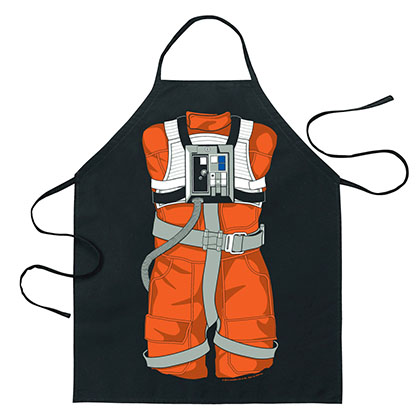 STAR WARS Luke Skywalker X-Wing Cartoon Apron