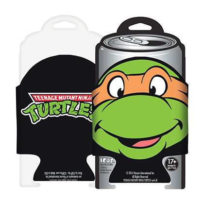 TEENAGE MUTANT NINJA TURTLES Michelangelo Koozie