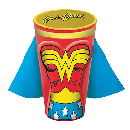 WONDER WOMAN Caped Pint Glass
