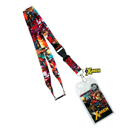 X-MEN Comic Collage Lanyard