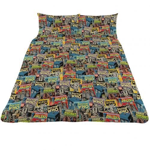 Doctor Who Double Duvet Set CM