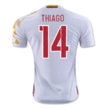 2016-2017 Spain Adidas Away Shirt (Thiago 14) - Kids