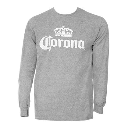 Corona Grey Long Sleeve Shirt