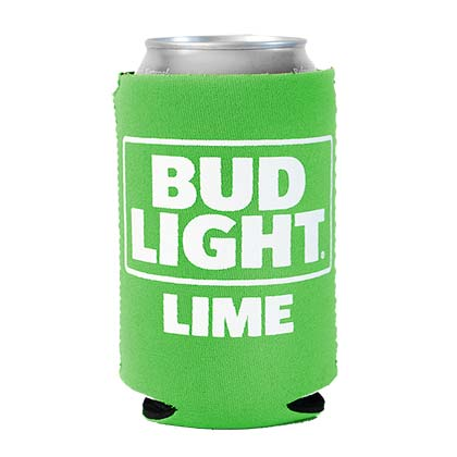 BUD LIGHT Lime Can Insulator