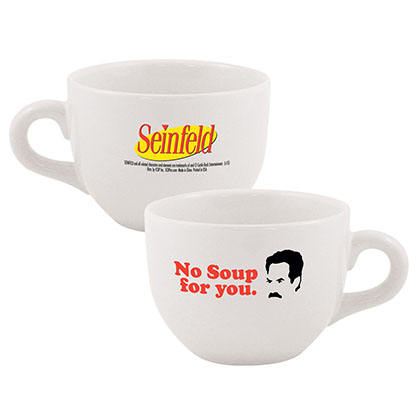 SEINFELD No Soup Ceramic Coffee Mug