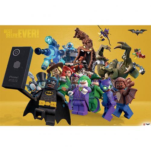 Official Lego Batman Poster Best Selfie Ever 285: Buy