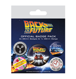 Back to the Future Pin 250621