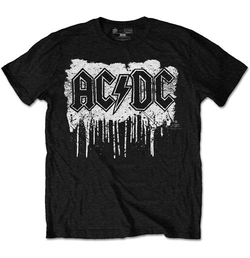 AC/DC - Dripping With Excitement Special Edition Black T-shirt (Unisex)