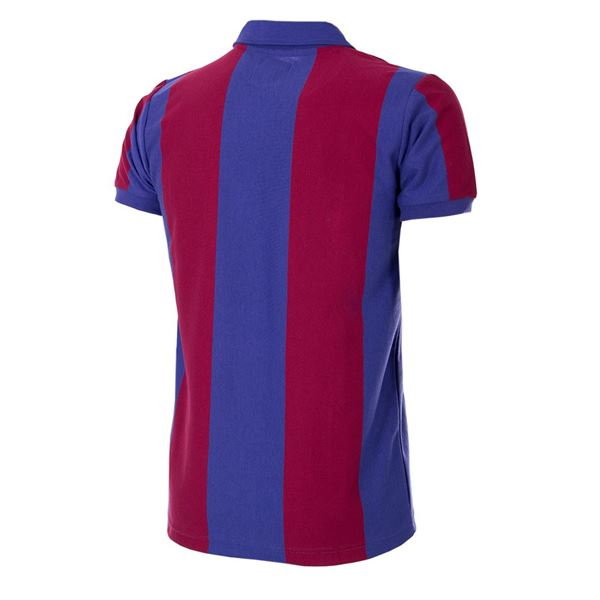 FC Barcelona 1980 - 81 Short Sleeve Retro Football Shirt