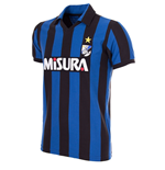 F.C. Internazionale 1986 - 87 Short Sleeve Retro Football Shirt