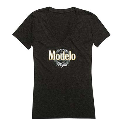 Modelo Negra Ladies V-Neck Tee Shirt