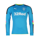 2016-2017 Rangers Away Goalkeeper Shirt (Blue)