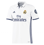 2016-2017 Real Madrid Adidas UCL Home Shirt (Kids)