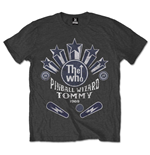 The Who Men's Tee: Pinball Wizard Flippers
