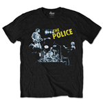 The Police Men's Tee: Live