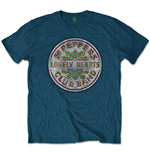 The Beatles Men's Tee: Sgt Pepper Drum