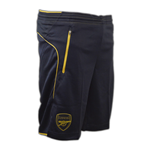 2015-2016 Arsenal Puma Training Shorts with Pockets (Anthracite)