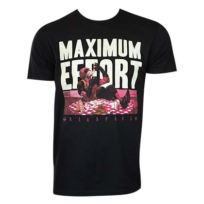 DEADPOOL Maximum Effort Tee Shirt