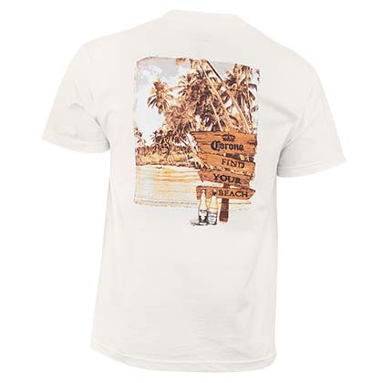 CORONA EXTRA Find Your Beach Tee Shirt