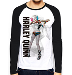 Suicide Squad - Hq Poster - Unisex Baseball Shirt White