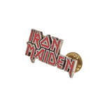 Iron Maiden - Enamel Logo - Pin Badge