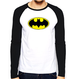 Batman - Logo - Unisex Baseball Shirt White
