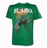 CAPCOM StreetFighter Men's Blanka T-Shirt, Large, Green