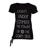 Star Wars Rogue One – Don't Underestimate the Dark Side Female T-shirt