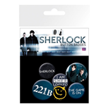 Sherlock Badge Pack - Mix
