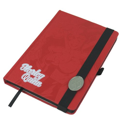 Harley quinn notebook 251925 for only at merchandisingplaza uk - Deadpool harley quinn notebook ...