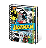Batman A5 Notebook - Batman Retro