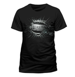 Superman - Erroded - Unisex T-shirt Black