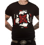 Red Hot Chili Peppers - Bssm - Unisex T-shirt Black