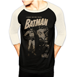 Batman - Twoface - Unisex Baseball Shirt Black