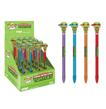 Teenage Mutant Ninja Turtles POP! Homewares Pens with Toppers Display (16)