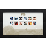 Star Wars Framed Stamps Characters 43 x 27 cm