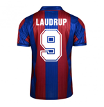 Score Draw Barcelona 1992 Home Shirt (Laudrup 9)