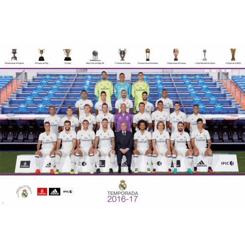 Real Madrid F.C. Poster Squad 38