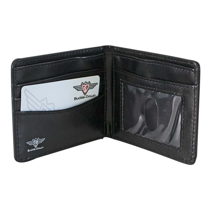 BATMAN Striped Bi-Fold Wallet