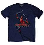 Marvel Comics T-Shirt Deadpool Jump
