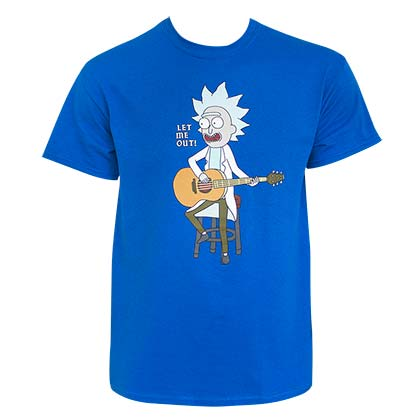 Official Rick And Morty Let Me Out Tee Shirt  Buy Online on Offer 91f06b24d