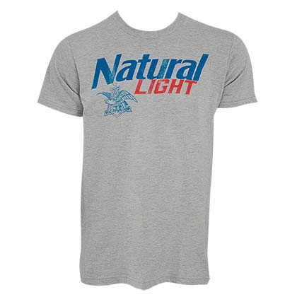 NATURAL LIGHT New Logo Tee Shirt