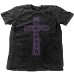 Black Sabbath Men's Fashion Tee: Vintage Cross